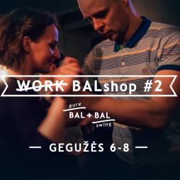 BALSHOP #2 - Balboa seminaras