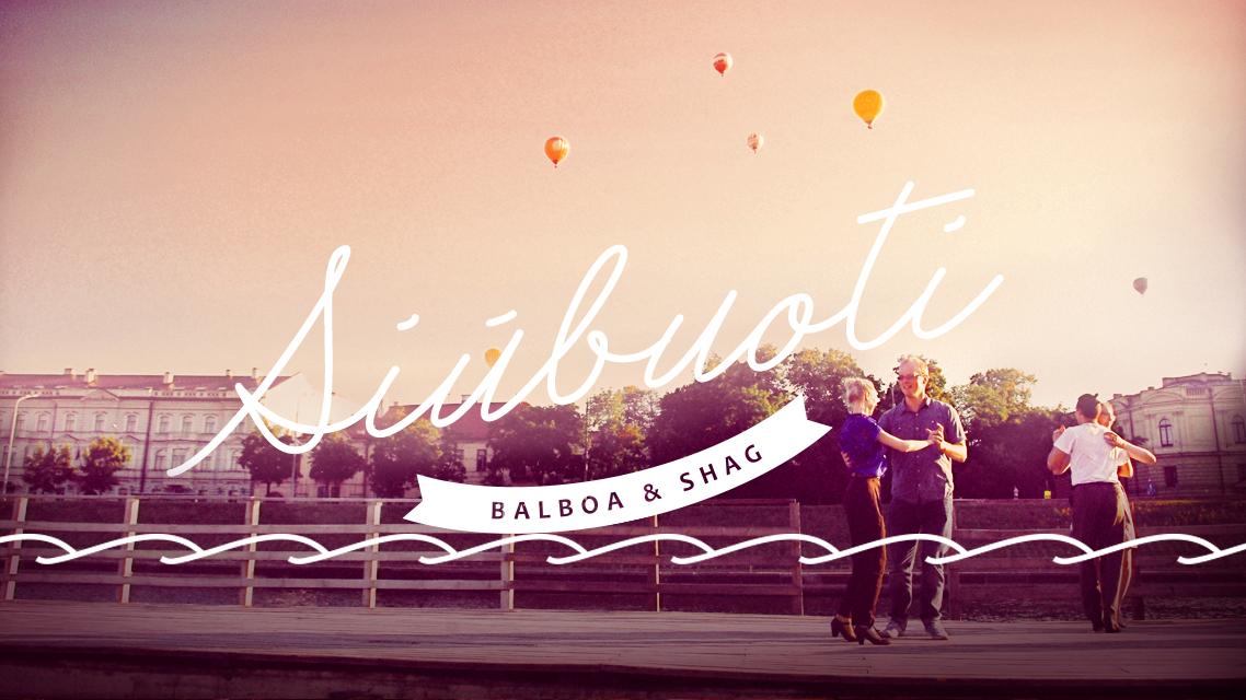 Siūbuoti - Balboa & Shag social